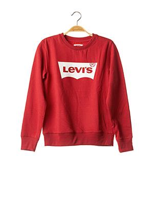 Sweat-shirt rouge LEVIS pour garçon