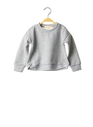 Sweat-shirt gris PM LOVING pour enfant