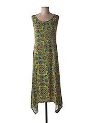Robe mi-longue vert DIPAWALI pour femme seconde vue