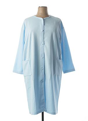 Robe de chambre bleu F COLLECTION pour femme