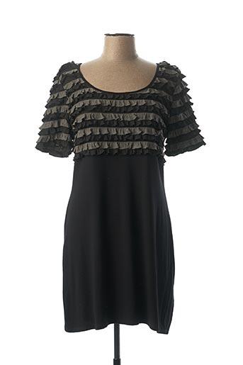 Robe courte noir FOSBY pour femme