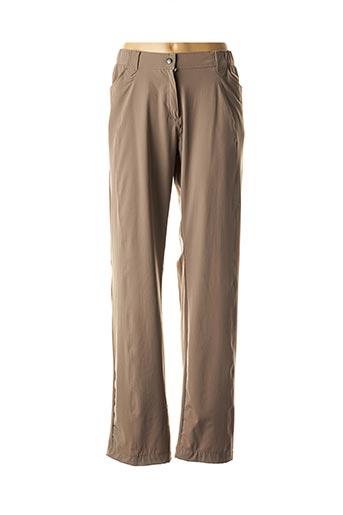 Pantalon casual marron FUSALP pour homme