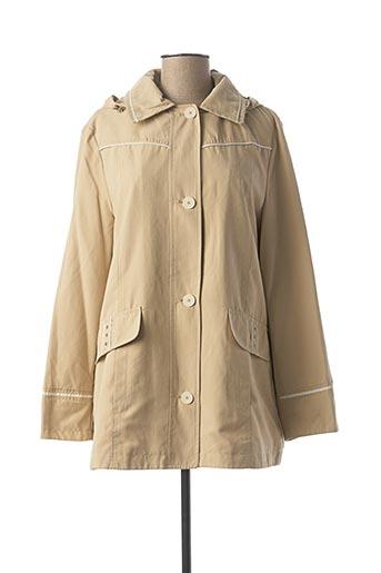 Manteau court beige CONCEPT K pour femme