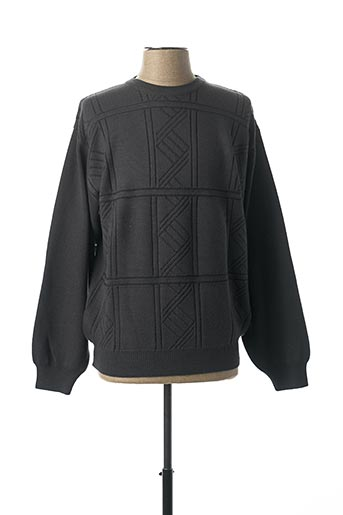 Pull col rond bleu CHAIRMAN pour homme