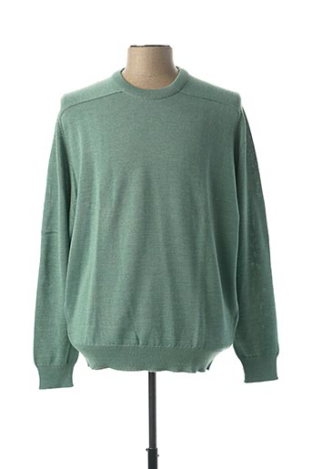 Pull col rond vert CHAIRMAN pour homme