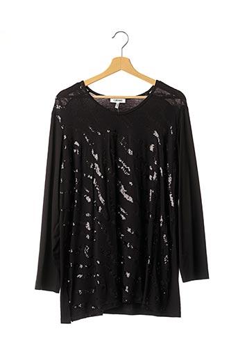 T-shirt manches longues noir KJBRAND pour femme