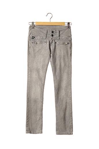 Pantalon casual gris LOIS pour femme