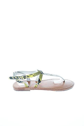 Sandales/Nu pieds jaune SCOTCH & SODA pour femme