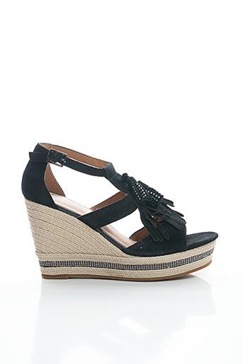 Sandales/Nu pieds noir MAM'ZELLE pour femme