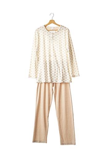 Pyjama beige ARY & BELLE pour femme