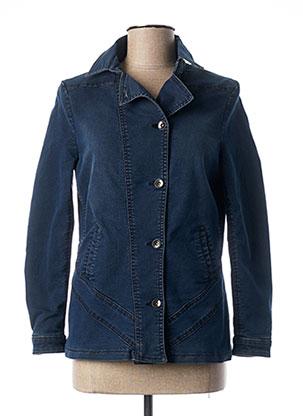 Veste en jean bleu QUATTRO pour femme