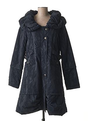 Manteau long bleu C.MISSARO pour femme