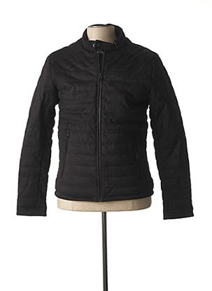 Manteau court noir PARTNER'S pour homme