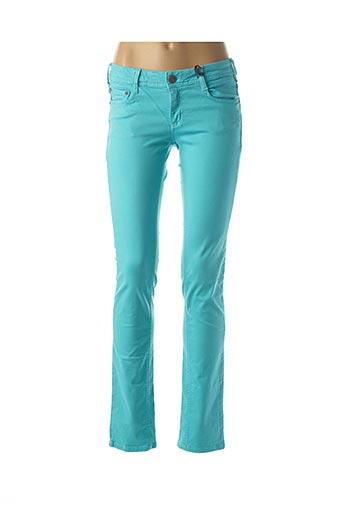 Jeans coupe droite bleu CIMARRON pour femme