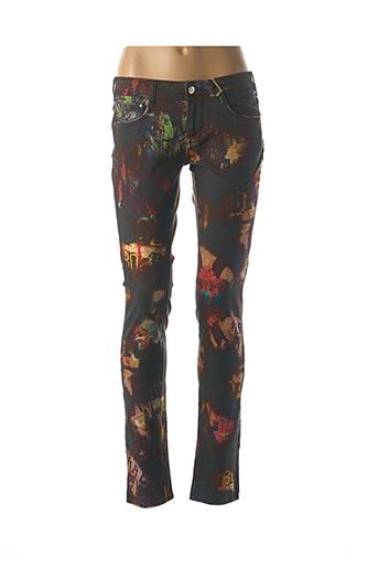 Jeans coupe slim bleu CIMARRON pour femme
