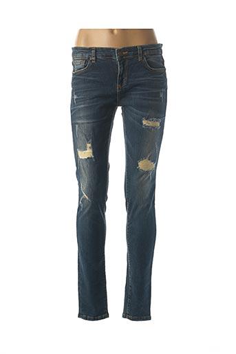 Jeans coupe slim bleu LTB pour femme