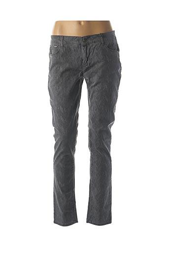 Pantalon casual gris MKT STUDIO pour femme
