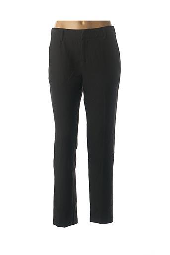 Pantalon casual noir SEE U SOON pour femme