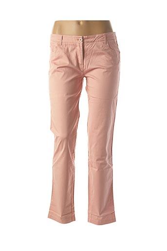 Pantalon casual rose 2 TWO pour femme