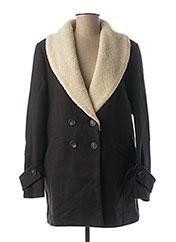 Manteau long bleu DEUX TWO pour femme seconde vue