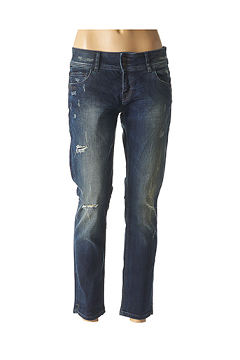 Jeans boyfriend bleu LBT pour femme