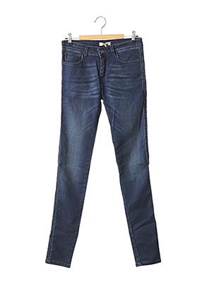 Jeans skinny bleu BÔ-M pour femme