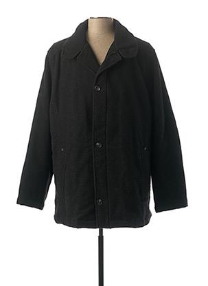 Manteau court noir FRANK EDEN pour homme