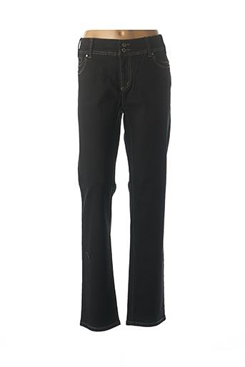 Pantalon casual noir IMITZ pour femme