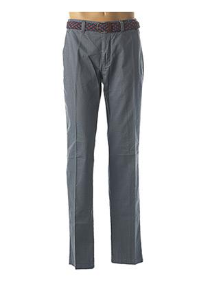 Pantalon chic bleu EMYLE pour homme