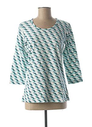 T-shirt manches longues bleu JENSEN pour femme
