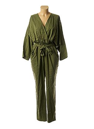 Combi-pantalon vert COSSAC pour femme
