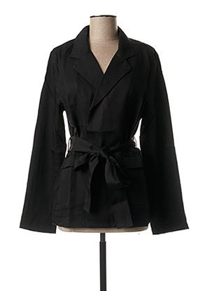 Veste casual noir COSSAC pour femme
