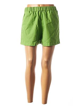 Short vert GAELLE CONSTANTINI pour femme