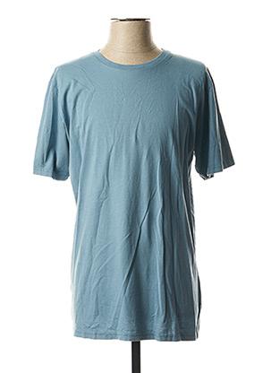 T-shirt manches courtes bleu COLORFUL STANDARD pour homme
