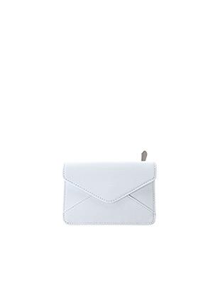 Portefeuille blanc DENISE ROOBOL pour femme