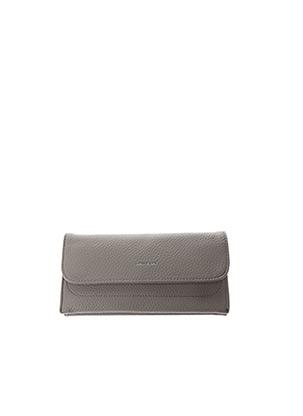 Portefeuille gris MATT & NAT pour femme
