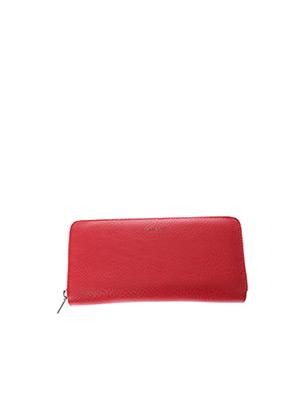 Portefeuille rouge MATT & NAT pour femme