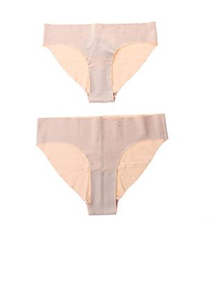 Slip/Culotte beige ORGANIC BASICS pour femme