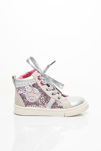 Baskets rose BOPY pour fille