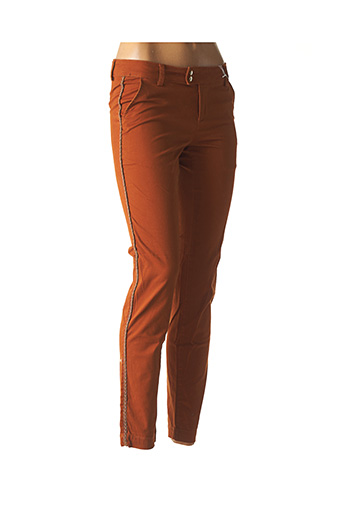 Pantalon 7/8 orange LES P'TITES BOMBES pour femme