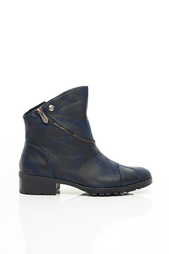 Bottines/Boots bleu LES P'TITES BOMBES pour femme