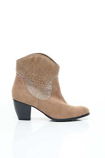 Bottines/Boots marron ENZA NUCCI pour femme
