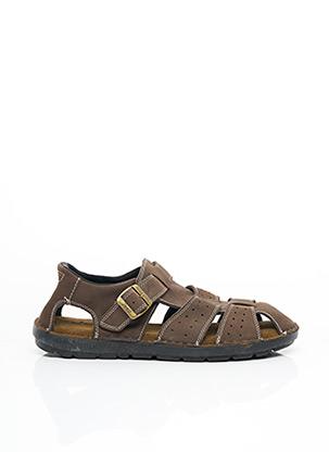 Sandales/Nu pieds marron JEEP pour homme