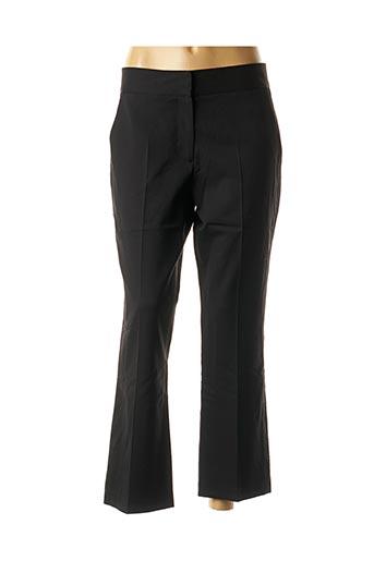 Pantalon casual noir EMMA & ROCK pour femme