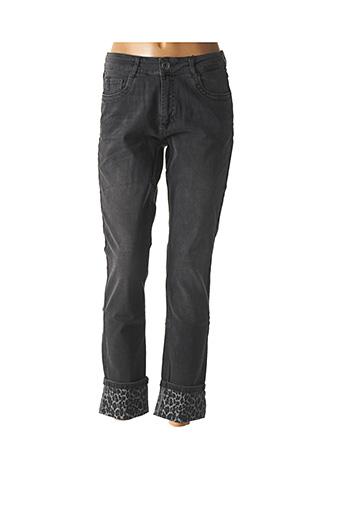 Jeans skinny gris PARA MI pour femme