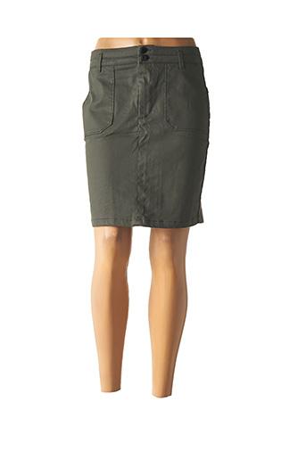 Jupe courte vert ONE STEP pour femme