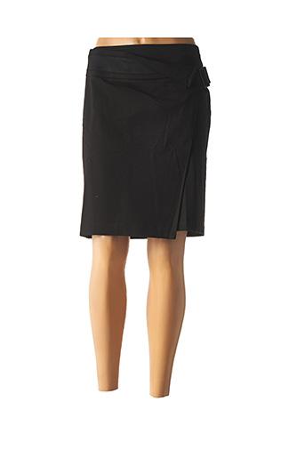 Jupe mi-longue noir ONE STEP pour femme