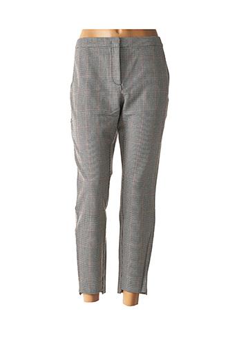 Pantalon 7/8 noir YAYA pour femme