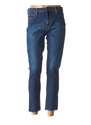 Jeans coupe slim bleu ACQUAVERDE pour femme