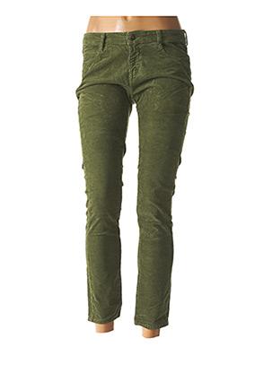 Pantalon 7/8 vert ACQUAVERDE pour femme